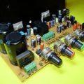 TDA7294 Stereo Ton Kontrollü Hoparlör Korumalı Amfi Devresi