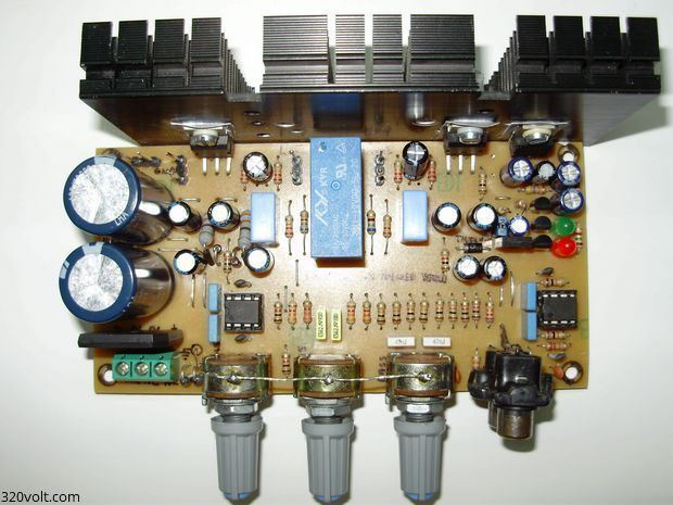 Compact Stereo Amplifier Project - Electronics Projects ...