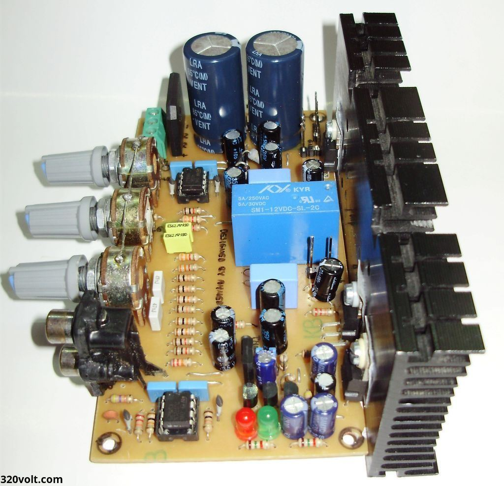 Compact Stereo Amplifier Project Electronics Projects Circuits Bridge Power Circuit Diagram Electronic Tda7294 Lm1875 Tda2030 Tda2040 Tda2050 Kompakt Pcb 2 120x120