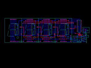 PIC16F628 DS18B20 ile 4 Digit 7 Segment Saat Termometre