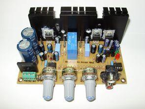 Stereo Kompakt Amplifikatör Projesi