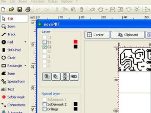 Sprit Layout PCB Dosyasını PDF Formatında Kayıt Etmek