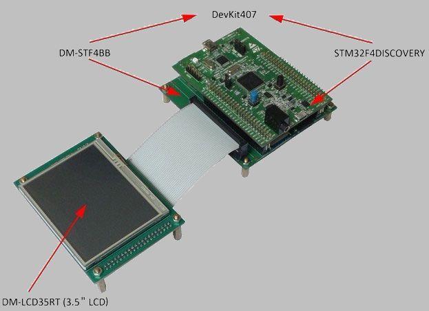 stm32f4-discovery-dm-lcd35rt-oyun-devresi
