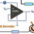 İki transistör ve LDR'li ışığa duyarlı devre