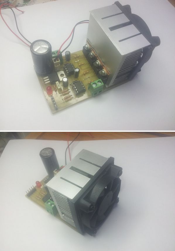 H Bridge Dc Motor Driver Circuit With Ir2101 Electronics
