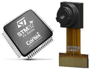 STM32F4 DCMI & OV9655 Kamera Uygulaması