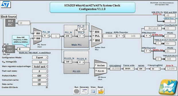 stm32f40xx-system-clock-configration-tool