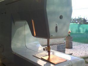 Dikiş Makinesi Modifiyesi: PCB Kesme Tezgahı