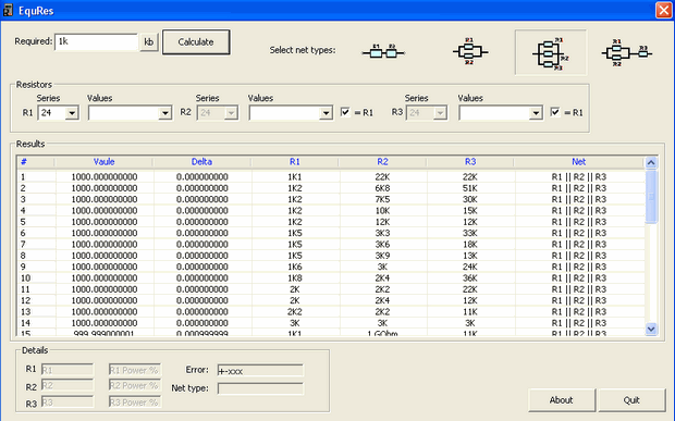 Advanced Resistor Calculator Program advanced resistor calculator direnc hesalama
