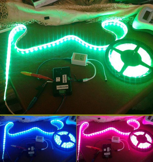 RGB Led Strip Extension Circuit rgb serit led uzatici rgb led strip extender