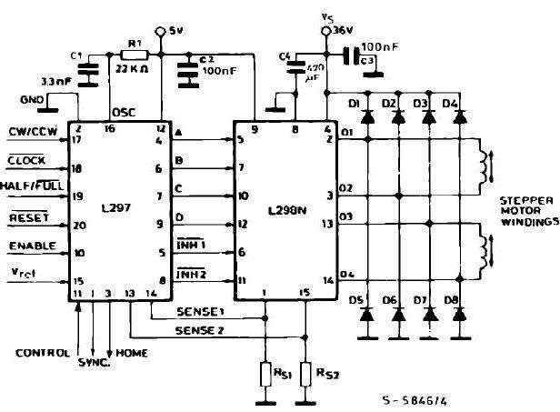 stepmotor-l298-l297