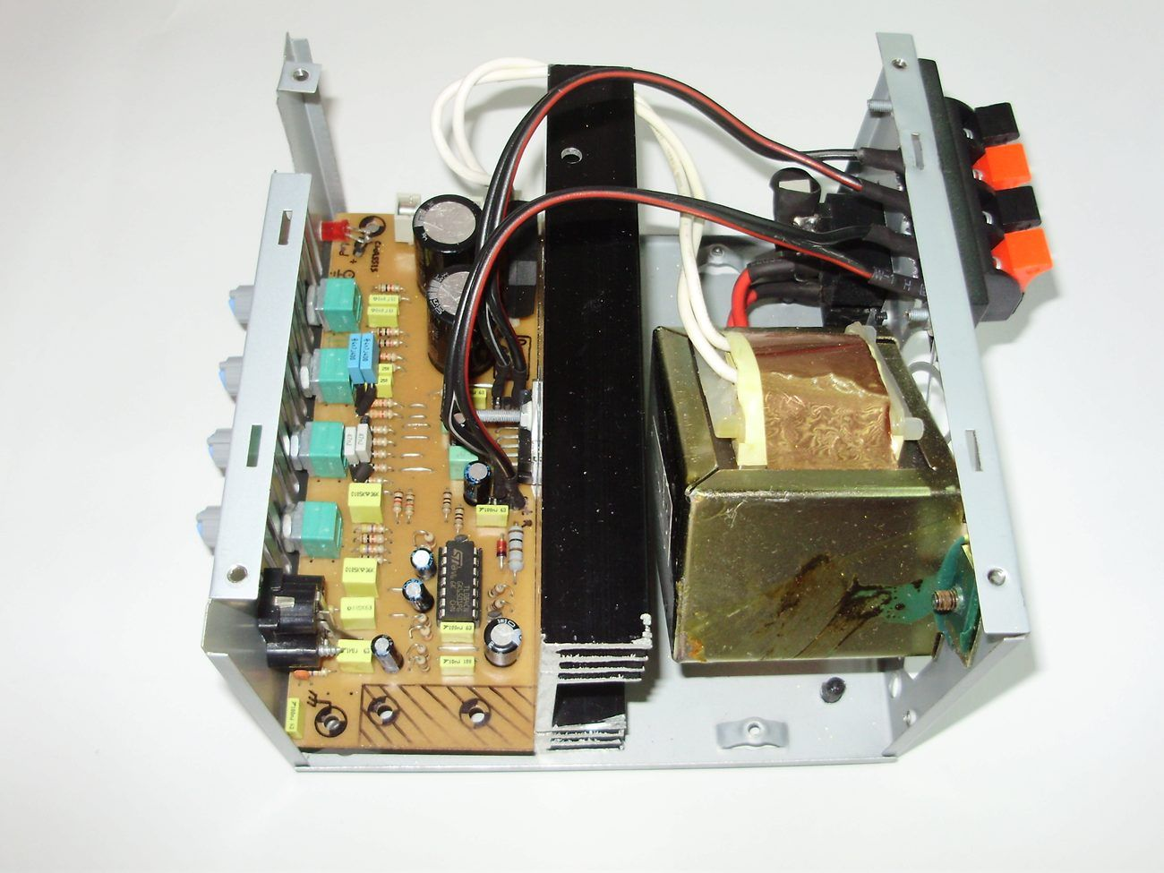 Tone Controlled Tda7377 Amplifier Project Electronics