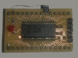 DSPIC33FJ32MC202 SMD Dip Adaptör PCB