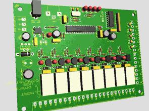 PIC18F2550 Smart Control USB Controller