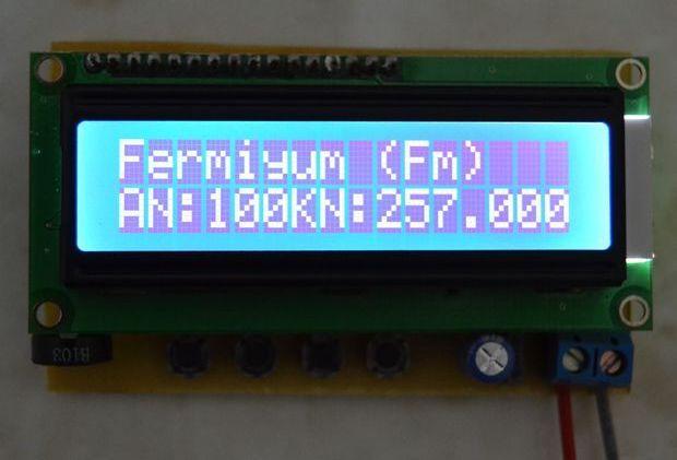 Periodic Ruler circuit with PIC16F877 bilim teknik elektronik periyodik cetvel devresi 1