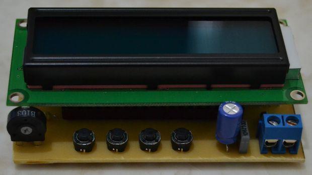 Periodic Ruler circuit with PIC16F877 bilim teknik elektronik periyodik cetvel devresi 2
