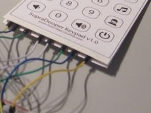El yapımı Membran Tuş Takımı ve Arduino Uygulama Örneği