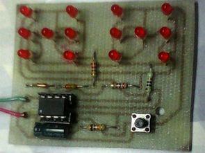PIC12F629 İle Basit Elektronik Zar Devresi