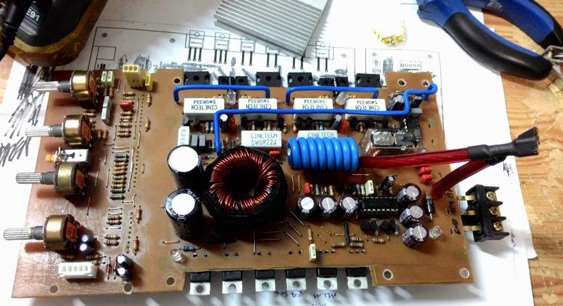 Amplifier The Jpa460 4 Channel Stereo Car Audio Amplifier Raises The