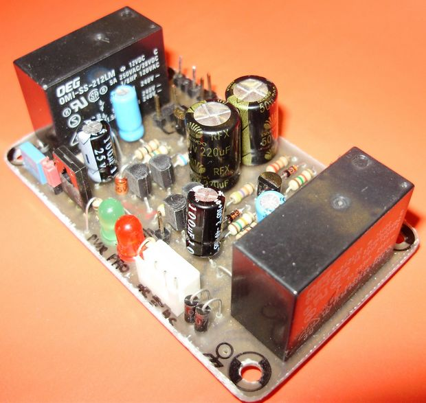 Complete Speaker Protection Circuit 1 hoparlor koruma speaker delay circuit