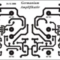 Germanium Transistor Amplifier Circuit 11 pcb germanium amplifier transistor germanyum anfi devresi 120x120