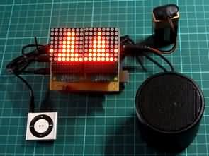 Arduino Uno Spektrum Analizör MSGEQ7 8×8 Led Matrix