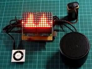 Arduino Uno Spektrum Analizör MSGEQ7 8×8 Led Matrix
