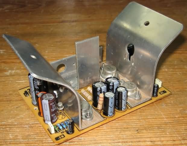 Germanium Transistor Amplifier Circuit germanyum anfi germanium transistors audio amplifier