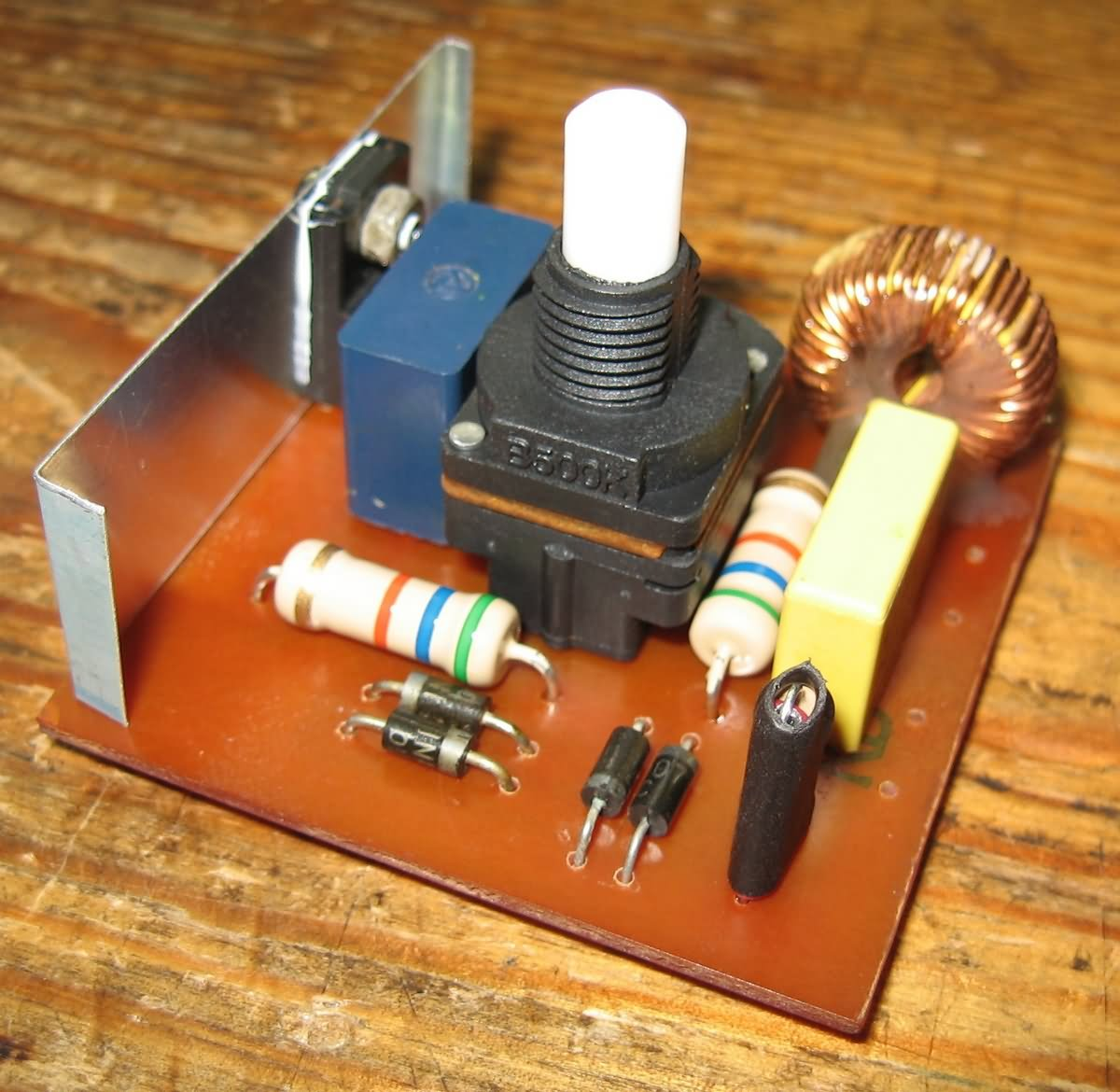 Dimmer Circuit 40w For Soldering Iron