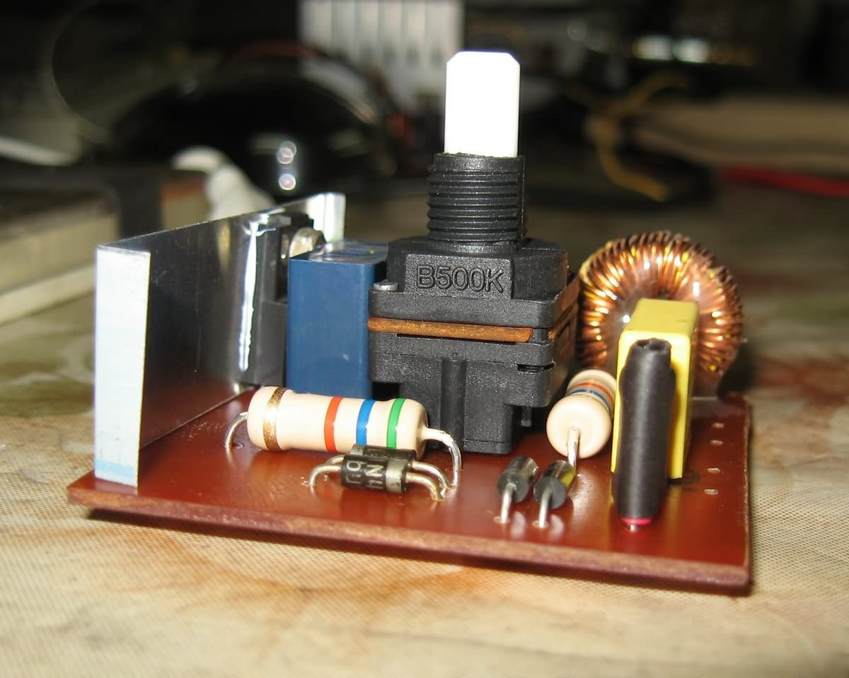 Dimmer Circuit 40w For Soldering Iron Electronics Projects Circuits Best Solder Boards Devresi Devre Semasi 6b 120x120