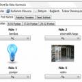 USB HID CDC ve Ethernet Röle Kontrol Programı (tanıtım)