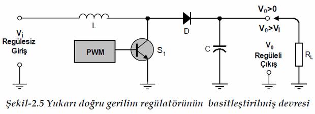 yukari-dogru-gerilim-regulatorunun-basitlestirilmis-devresi