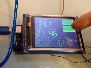 Arduino Mega 2560 ESP8266 Termostat DHT22 BMP180 DS1302