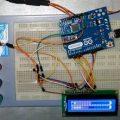 Arduino UNO LCD Vu Metre Devresi