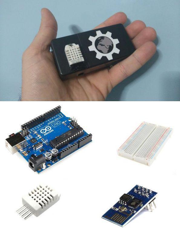 Arduino İle Wifi Üzerinden Isı Ve Nem Değerlerini Kaydedin