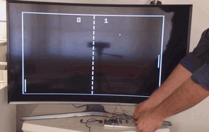 Arduino ile TV'de Pong Atari Oyunu