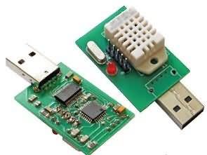 DHT22 USB Sıcaklık Nem Ölçer Devresi ATmega8