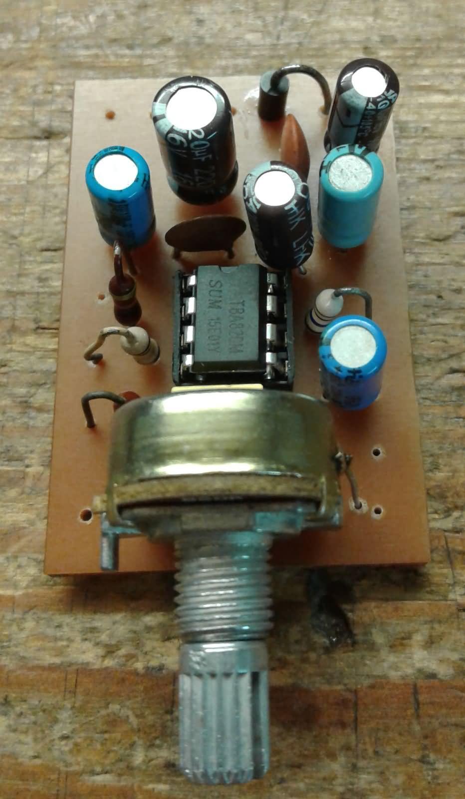Stereo  Mono Amplifier Circuit Tba820m