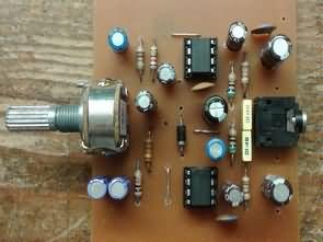 TBA820M Amfi Devresi (Stereo, Mono PCB)