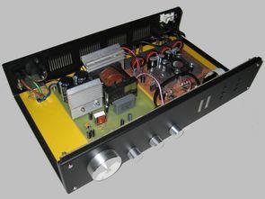 2X100W Class D Amfi Devresi  TL494 SMPS Güç Kaynağı