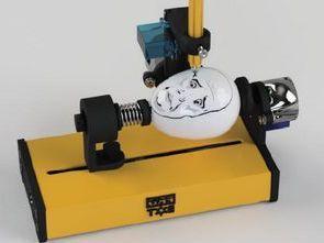 Arduino UNO Yumurta Boyama Robotu Kalem CNC