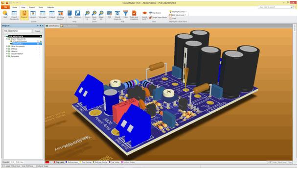circuitmaker-3d-pcb