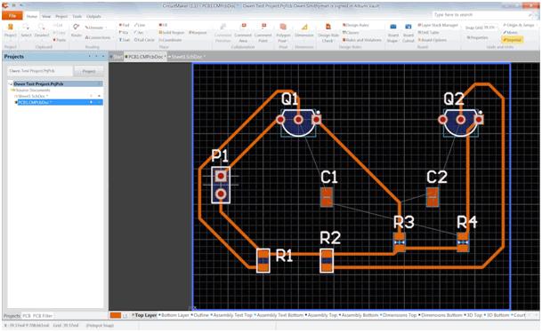 circuitmaker-devre-pcb
