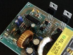 بوستر 12 به 30 ولت دوبل با ترانس پاور کامپیوتر