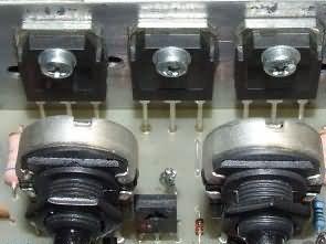 0-50V 0-4A Laboratuvar Tipi Güç Kaynağı TL081 BD249