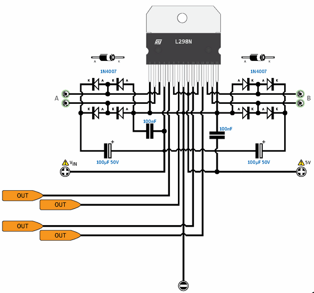 Arduino External Circuit Connection Charts - Electronics Projects ...