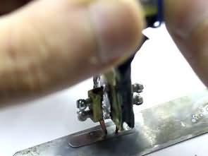 Basit Elektronik Pil Puntalama Devresi