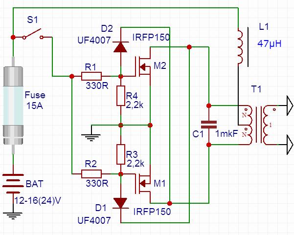 pil-puntalama-devresi-battery-welding-circuit-smps