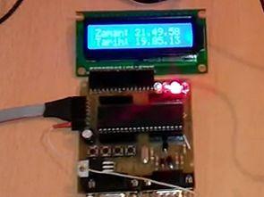 PIC16F877 SiRFstarIII GPS Uygulaması