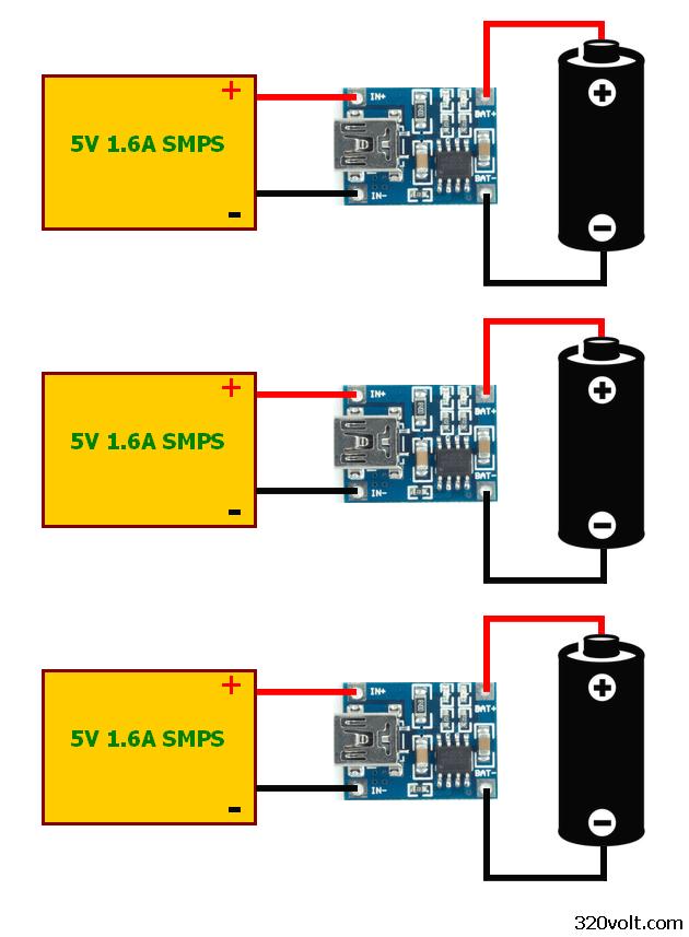 Li Ion Pil Şarj Entegreleri Mcp73831 Tp4056 Elektronik